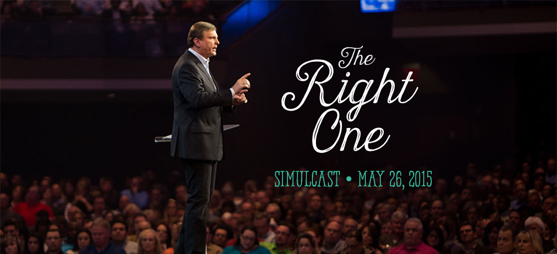 The Right One Simulcast by Jimmy Evans